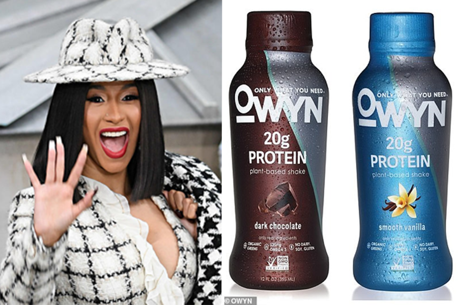 Cardi B Donates 20k Bottles of Vegan OWYN Drinks To Medical Staff Battling Covid-19 in New York