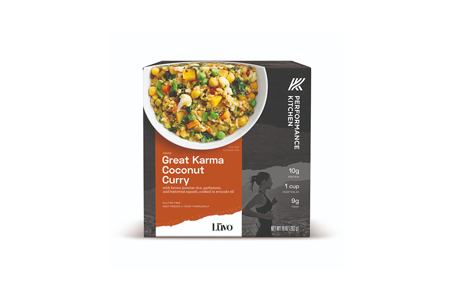 Performance Kitchen's Vegan Frozen Meals Encompass the Power of Food in Disease Prevention