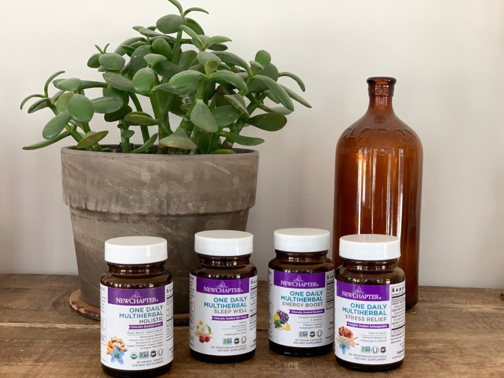 New Chapter Launches Multiherbal Line + Shares Healthy De-Stressing Practices