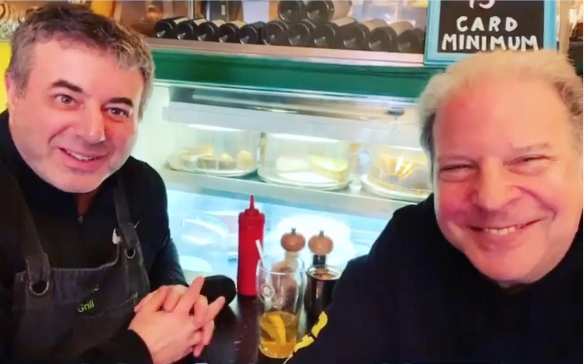 Vegan NYC Restauranteur  Launches Video Podcast-'OG Talk' with Vegan Comedian