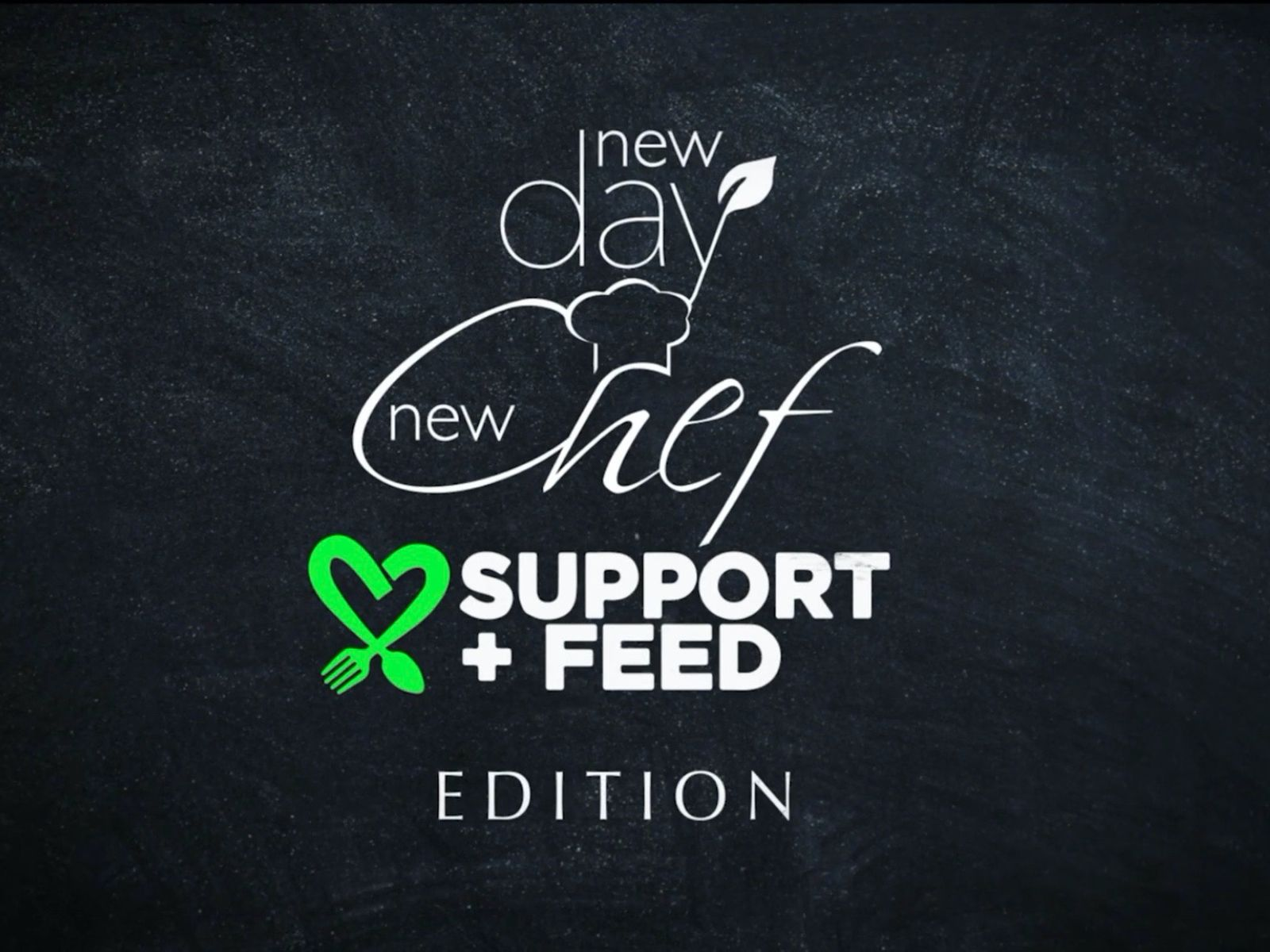 Maggie Baird's Support and Feed teams up with Amazon's Prime Video vegan cooking show New Day New Chef to highlight plant-based restaurants feeding those in need
