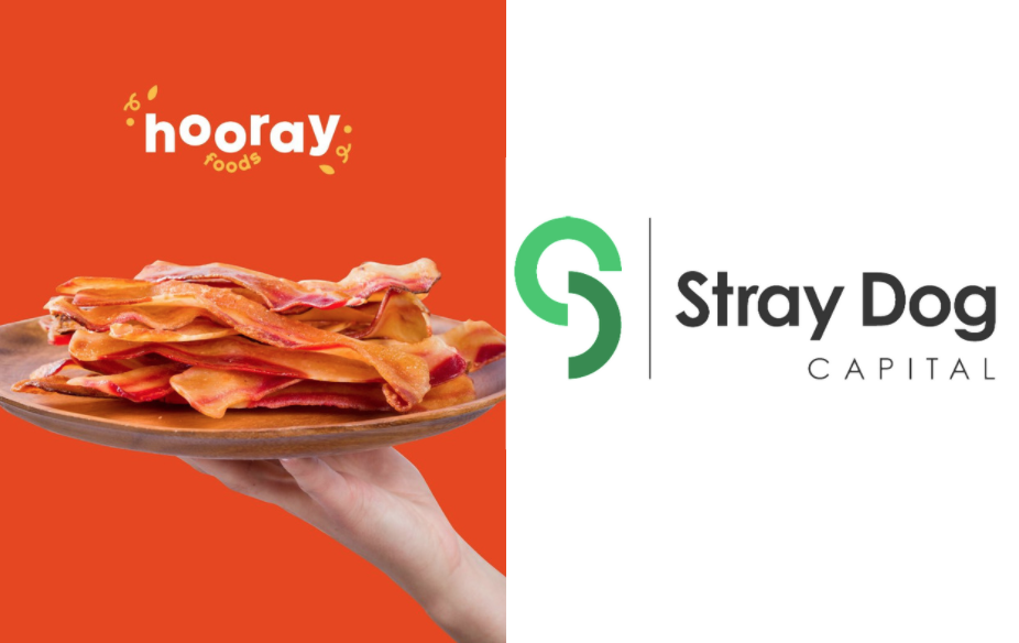 Hooray Food's Plant-Based Bacon Sizzles with Lead Investment from Stray Dog Capital