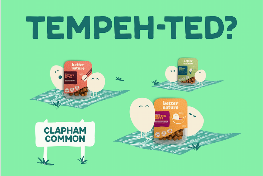 Better Nature gets free Out of Home with Clear Channel to raise tempeh awareness