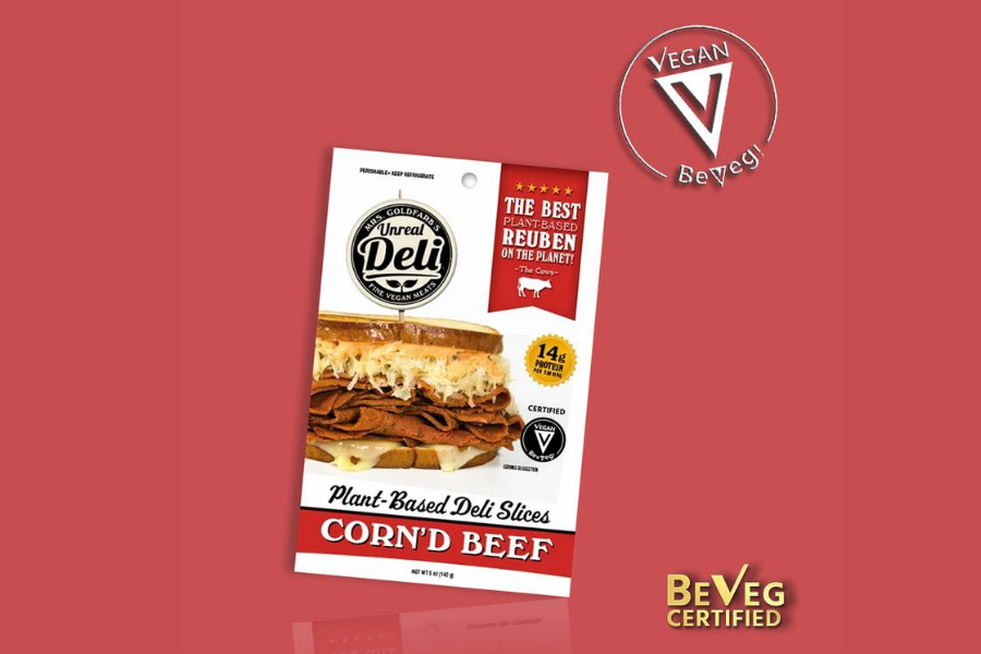 Unreal Deli's Recently Certified Vegan Corned Beef Sandwich Now Available at Veggie Grill Locations Nationwide