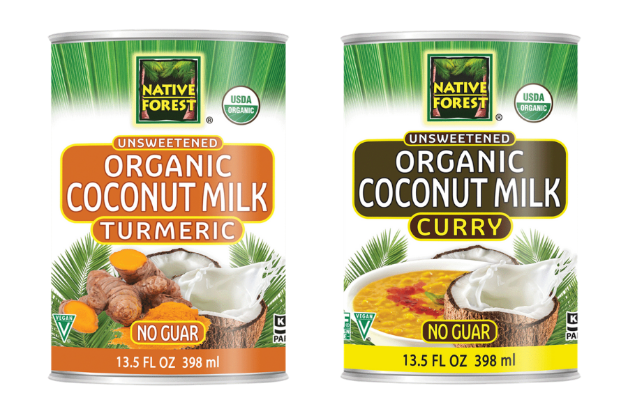Edward & Sons Expands National Distribution of Native Forest® Organic Curry Coconut Milk & Introduces Organic  Turmeric Coconut Milk