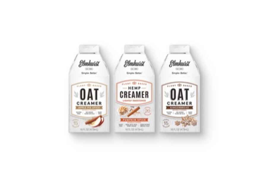 Elmhurst® 1925 Expands Creamer Line with Three New Seasonal Options: Pumpkin Spice, Apple Pie Spice and Gingerbread