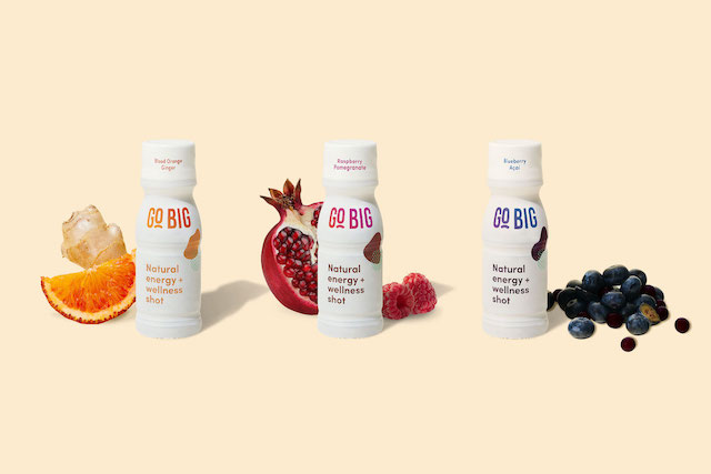 GO BIG, THE WORLD'S FIRST FEMALE-LED, TRULY NATURAL ENERGY & WELLNESS SHOT LAUNCHES NEW FLAVOR