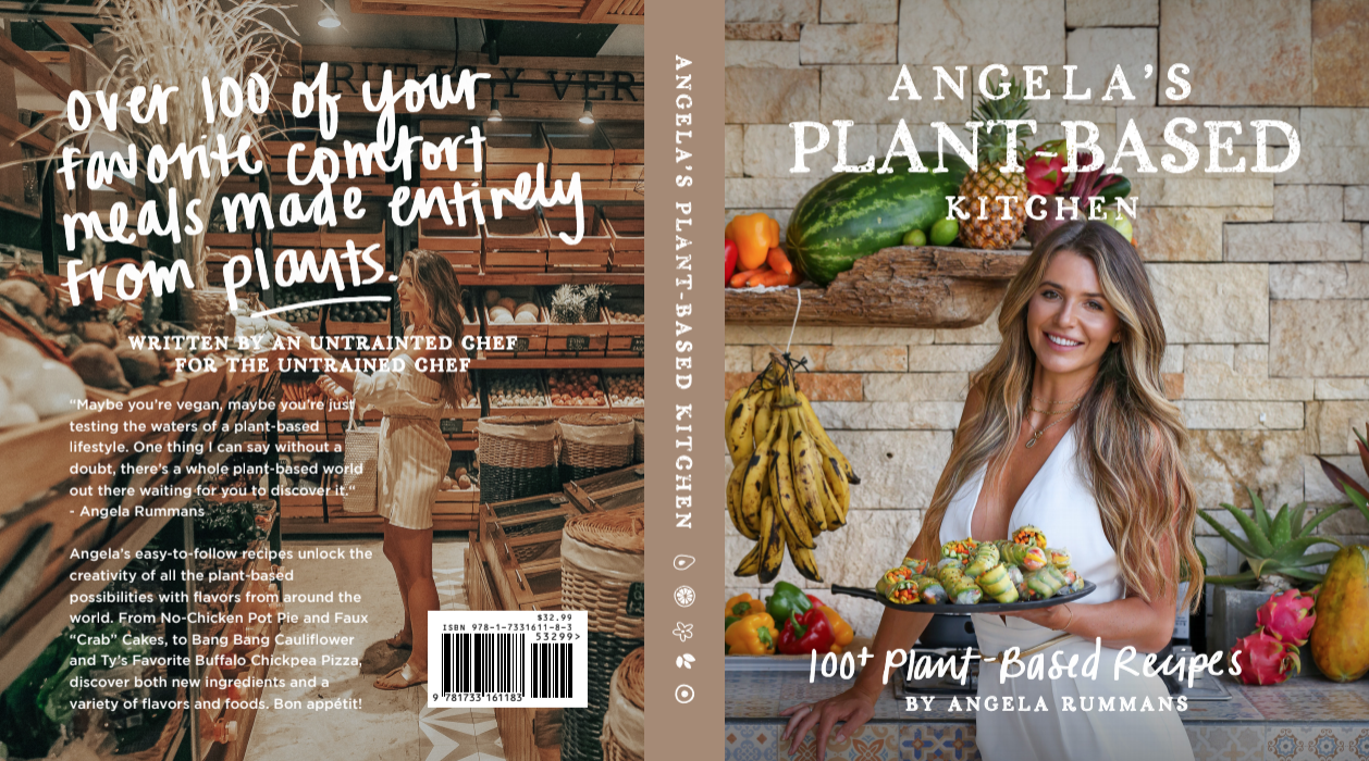 Q&A With Angela Rummans on her new book Angela's Plant-based Kitchen