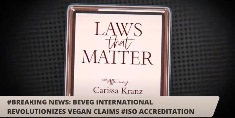 Vegan Certification Firm — BeVeg — Revolutionizes Vegan Labeling Globally with ISO Accreditation