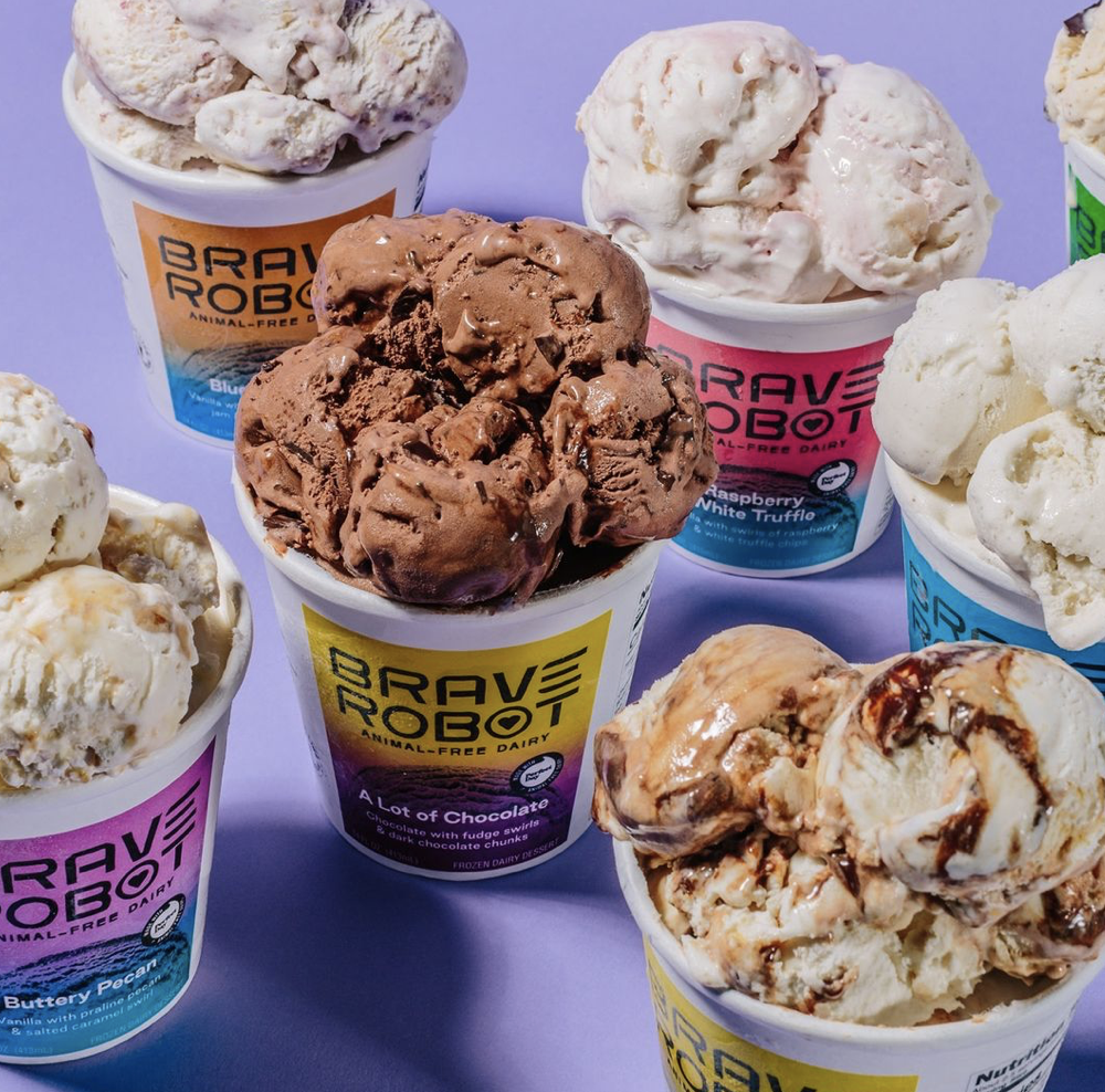 Animal-Free Dairy Innovator, Brave Robot Ice Cream, Now Available in 5,000  Stores in Just Seven Months - VEGWORLD Magazine