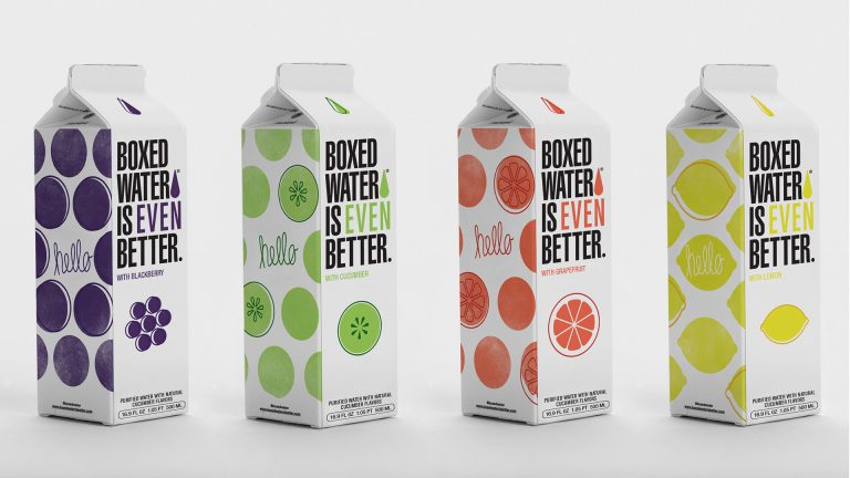 Boxed Water Is Better Launches 4 New Flavors with Single Use Plastic In The Post Pandemic Age