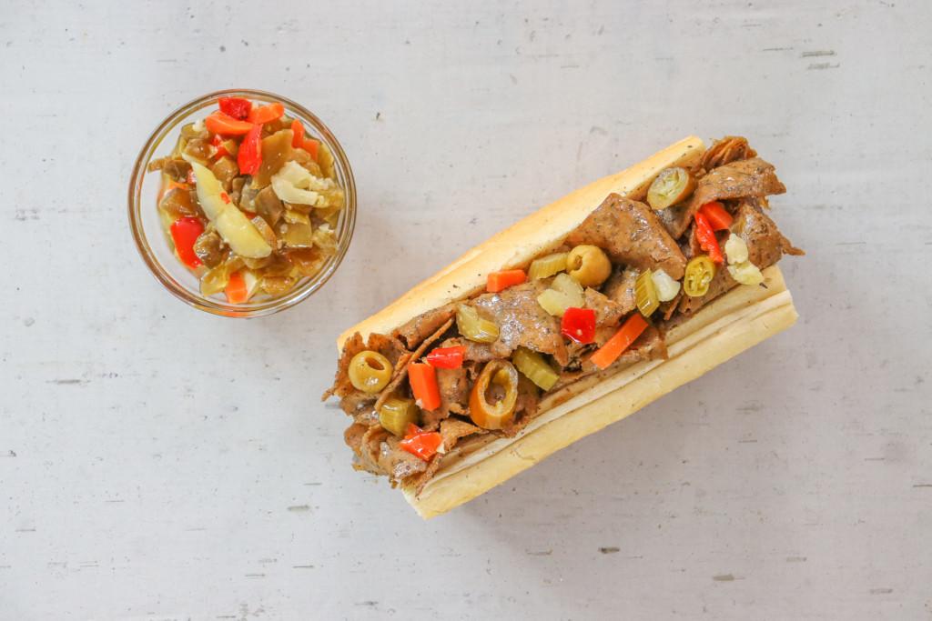 Buona Launches Plant-Based Italian Beefless Sandwich