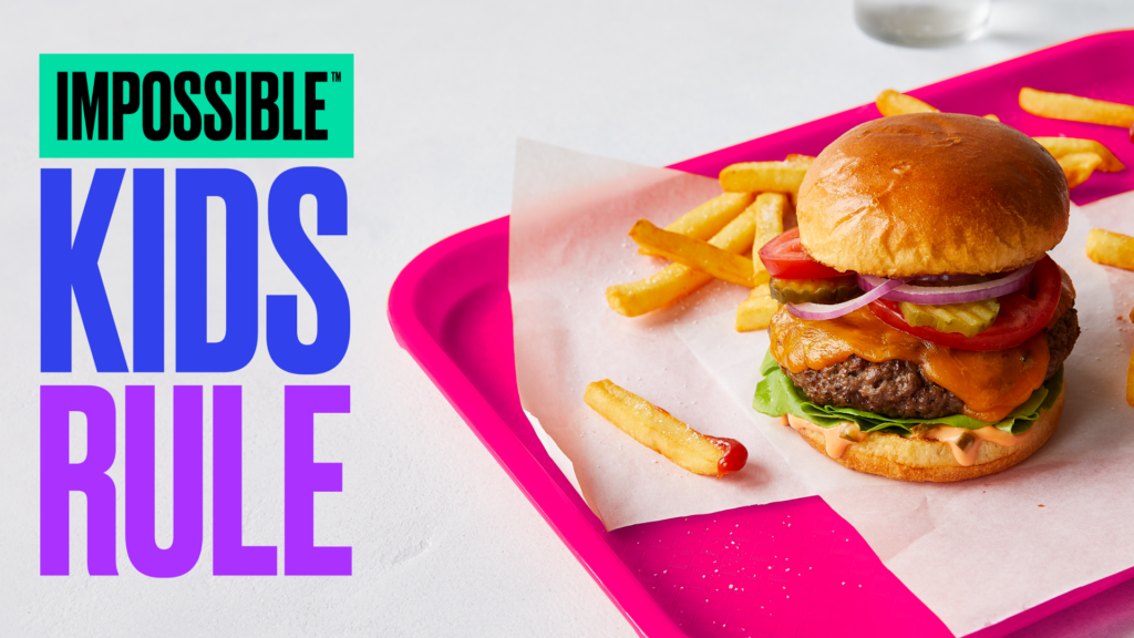 IMPOSSIBLE FOODS TO ENSURE PLANT-POWERED MEALS IN SCHOOL CAFETERIAS NATIONWIDE