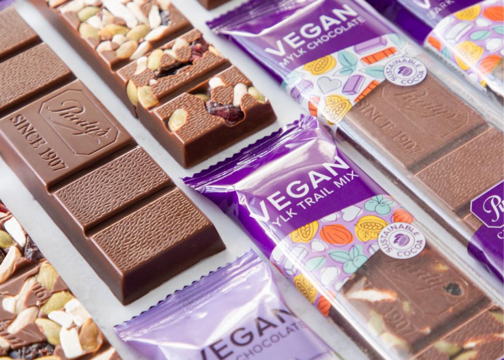 Purdys Chocolatier Launches New Vegan Chocolate Bars